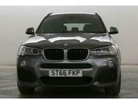 2016 BMW X3 2.0 xDrive20d M Sport Auto SUV Diesel Automatic