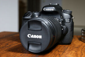 Canon 70D w/ 18-135mm f/3.5-5.6 IS STM Lens