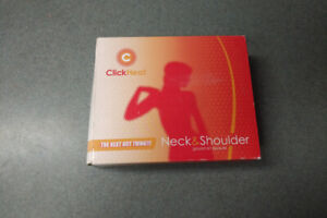 BRAND NEW IN BOX Neck/Should Reuseable Heating Pad
