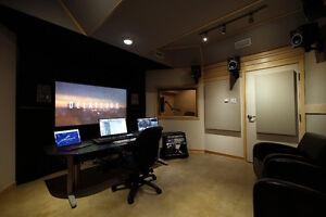 Studio de mixage et d'enregistrement clé en main