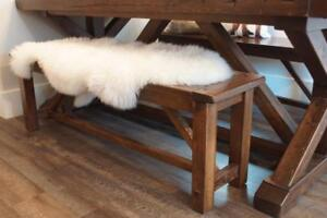 """ON SALE! In Stock Reclaimed Wood Bench 55"""", 15% off. By LIKEN Woodworks."""