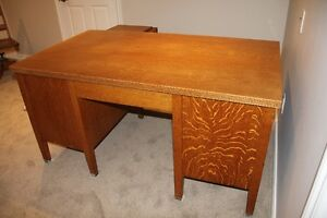 Antique Oak Desk Kitchener / Waterloo Kitchener Area image 5