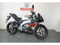 2017 APRILIA TUONO 125 15 BHP *95 MILES ON THE CLOCK* FREE DELIVERY
