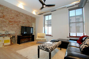 EXECUTIVE LOFT APARTMENT - 2 BDRM - FULLY FURNISHED