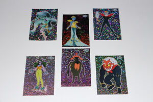 SAILOR MOON EXPANSION-COLLECTION-CARTES/CARDS-51 TO 56(NEUF/NEW)