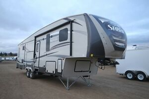 SAVE $5100 NEW 2015 SABRE 34RKDS FIFTH WHEEL