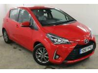 2017 Toyota Yaris 1.5 VVT-i Icon Tech 5dr Hatchback Hatchback Petrol Manual
