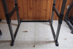 Parabody Squat Rack + Bench + Olympic bar + 280lbs Weight - MINT West Island Greater Montréal image 9