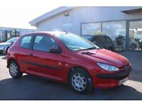 2005 54 PEUGEOT 206 1.1 INDEPENDENCE 3D 60 BHP