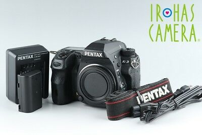 Pentax K-3 Digital SLR Camera In Black #13064D4
