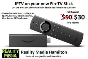 Live TV for your Amazon Fire stick (IPTV)