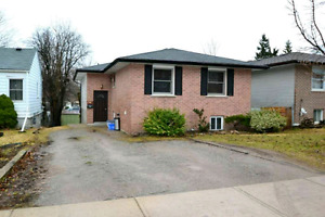 ** Peterborough -2 Bedroom Walkout Basement Apartment For Rent**