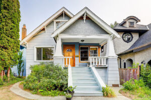 Charming home in desirable Point Grey, Vancouver