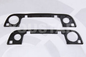 Set 2x New Front Outer Door Handle Gasket Rubber Seals