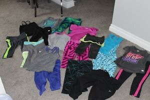 5T Girls active wear clothing - 22 items