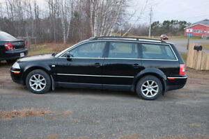 2004 VW PASSAT WAGON PARTS OR REPAIR