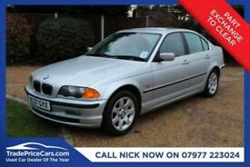 2000 W BMW 3 SERIES 2.5 323I SE 4D 168 BHP