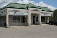 Office Building For SALE in Downtown Sylvan Lake! Busy Corner