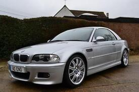 2003 BMW M3 3.2 SMG CONVERTIBLE PETROL