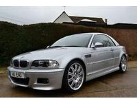 2003 BMW M3 3.2 SMG CONVERTIBLE PETROL