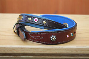 HANDMADE CUSTOM LEATHER DOG COLLARS,LEASHES, BELTS & HARNESS Peterborough Peterborough Area image 8