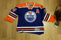 #14 Eberle Oilers Hockey Jersey Large and Mint Condition!