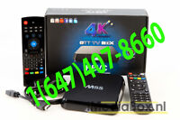 ANDROID TV BOX FULLY LOADED WITH TV ON IP LIVE CHANNELS