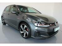 2018 GREY VW GOLF 2.0 GTI TSI 230 5DR MANUAL HATCH CAR FINANCE FR £354 PCM