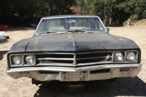 1967 Buick Special Grill complete with headlight trims