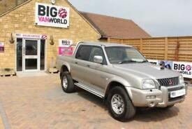 2004 MITSUBISHI L200 TD 4WD LWB WARRIOR DOUBLE CAB PICK UP DIESEL