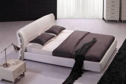 SALE!!!!!! Kesha Queen/King Leather/PU Bed AV At Wangara Showroom