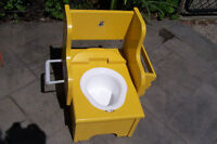 Childs Wooden Potty