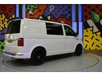 2016 VW TRANSPORTER T6 SWB 2.0TDI 140 PS HIGHLINE KOMBI LV SPORTLINE PK WHITE
