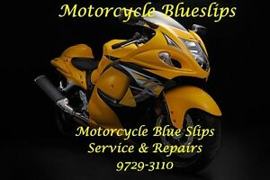 Motorcycle Blue Slips Wetherill Park Fairfield Area Preview