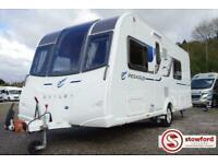 Bailey Pegasus 4 Rimini, 4 berth, single axle, pre-owned caravan