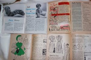 Vintage craft sewing Magazine aunt lydia's Work Basket Craft!!! West Island Greater Montréal image 8