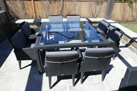 Andrew Richard Designs - Outdoor table and 8 Chairs