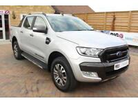2016 FORD RANGER WILDTRAK TDCI 197 4X4 DOUBLE CAB WITH ROLL'N'LOCK TOP PICK UP D