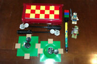 Lego Nintendo DS Lite Armour Case with Chima Minifigures