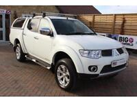 2013 MITSUBISHI L200 DI-D 4X4 BARBARIAN 176 BHP LB DOUBLE CAB WITH TRUCKMAN TOP