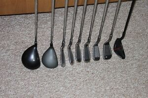 Men's right hand TNT irons and Driver,