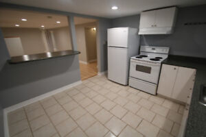 Newly renovated 2 bedroom basement **10 MIN WALK TO GO TRAIN*