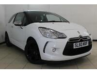2010 60 CITROEN DS3 1.6 HDI BLACK AND WHITE 3DR 90 BHP DIESEL