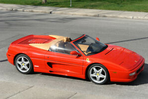 1995 Ferrari F355 Spider with removable top Red/Tan