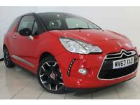 2013 63 CITROEN DS3 1.6 DSTYLE PLUS 3DR 120 BHP