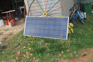 solar Panel, charge controller and possible inverter ?