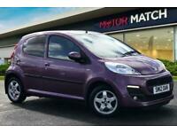 2012 Peugeot 107 ALLURE Hatchback Petrol Manual