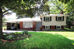 Beautifully redesigned and updated 4 level side split for sale