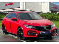 2021 Honda Civic 1.5 VTEC Turbo Sport CVT (s/s) 5dr Auto Hatchback Petrol Automa