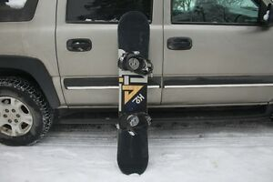 K2 VIPER 45 SNOWBOARD W/RIDE LX BINDINGS NICE CONDITION